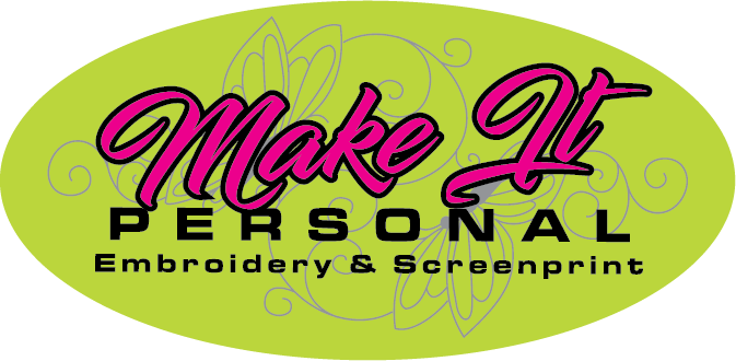 Make It Personal Embroidery Shop & Screenprint Logo